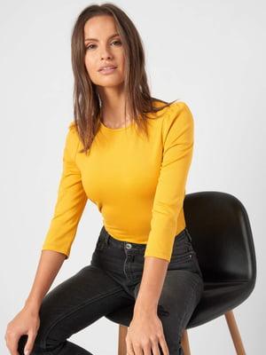 Блуза горчичного цвета | 5535798