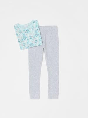 Пижама: лонгслив и леггинсы | 5536186