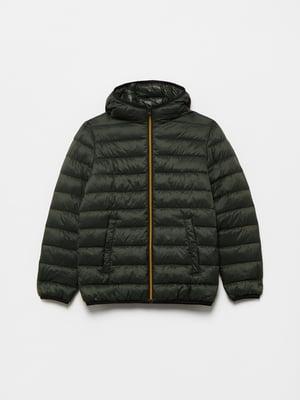 Куртка темно-зеленая | 5536264