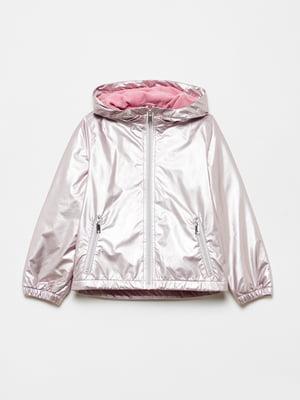 Куртка серебристого цвета   5536274