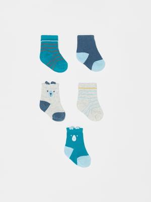 Комплект шкарпеток (5 пар) | 5536329