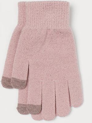Рукавички світло-рожеві | 5535703