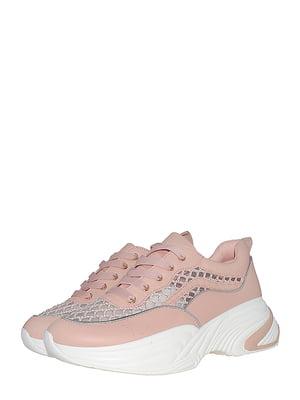 Кроссовки розовые | 5531254