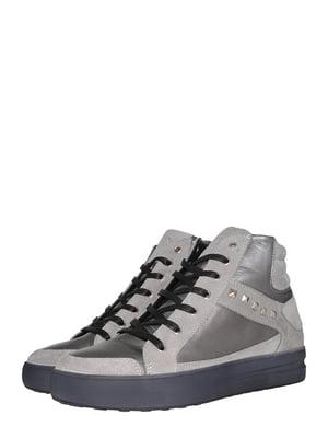 Ботинки серые | 5531445