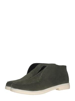 Ботинки зеленые   5531452