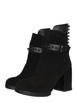 Черевики чорні | 5531933