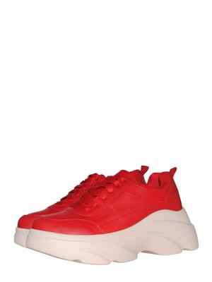Кроссовки красного цвета | 5534585