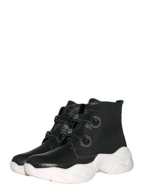 Ботинки зеленые | 5535763