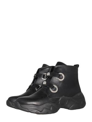 Ботинки черные | 5535764