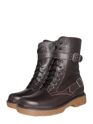 Ботинки коричневые | 5535773