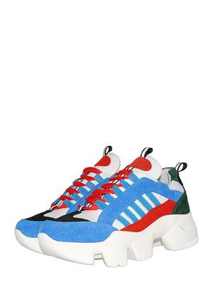 Кроссовки разноцветные | 5536615