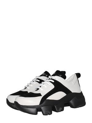 Кроссовки черно-белые | 5536632