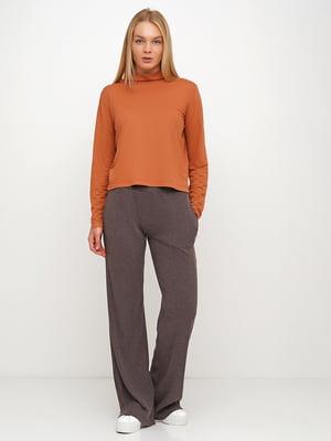 Блуза коричневая | 5536956