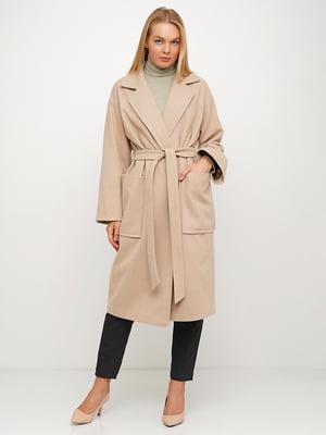 Пальто бежевое | 5536958
