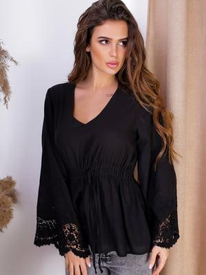 Блуза чорна | 5536967