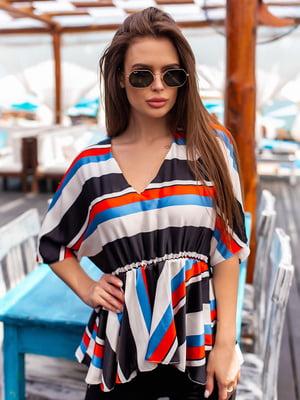 Блуза в смужку | 5536970