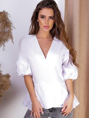 Блуза белая   5536973