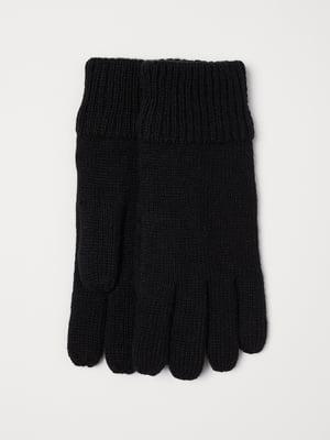 Перчатки черные   5535699