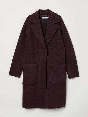 Пальто бордове | 5537102
