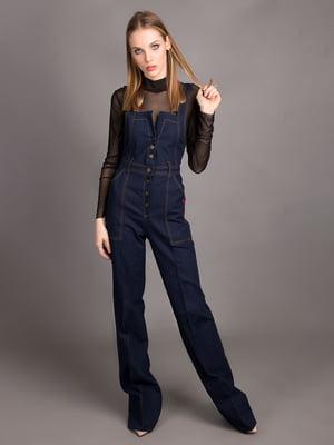 Комбинезон цвета джинс | 5537474