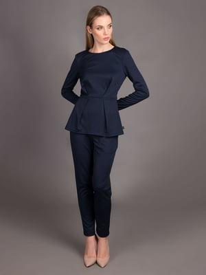 Блуза темно-синя | 5537574