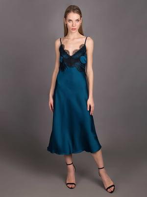 Платье изумрудного цвета - Andre Tan - 5537667