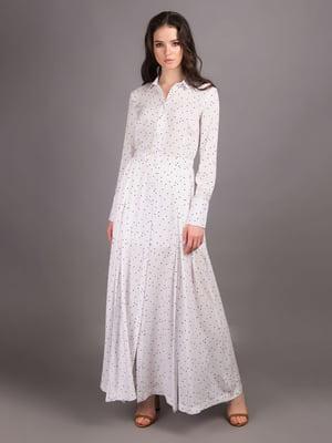 Платье белое в принт - Andre Tan - 5537725