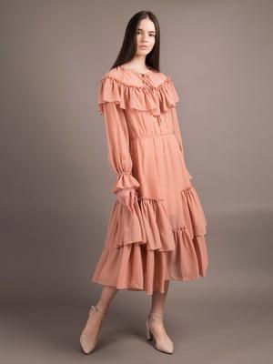 Сукня світло-теракотового кольору | 5537766