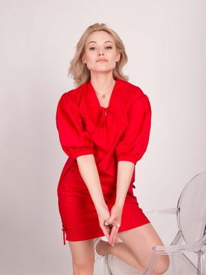 Платье красное   5537811