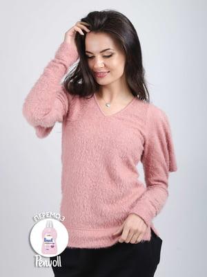 Пуловер рожевий | 5537887
