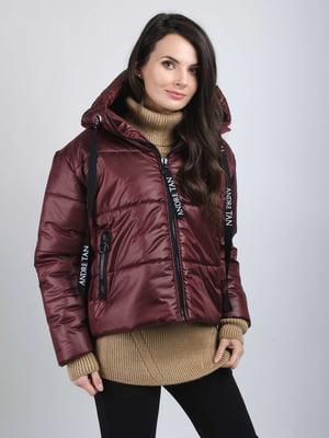 Куртка бордова - Andre Tan - 5537899