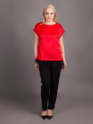 Блуза червона | 5537929
