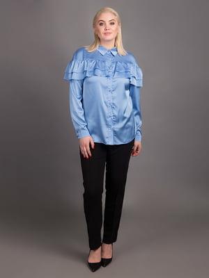 Сорочка блакитна | 5537967