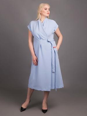 Сукня блакитна | 5537987