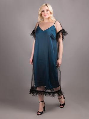 Сукня смарагдового кольору | 5538004