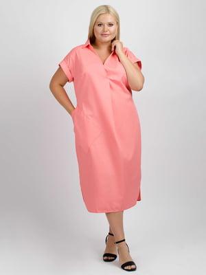 Сукня коралового кольору | 5538015
