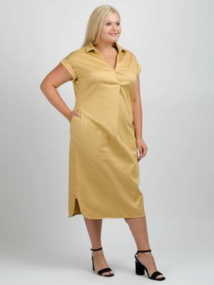 Сукня кольору сафарі | 5538016