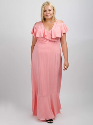 Сукня коралового кольору | 5538018