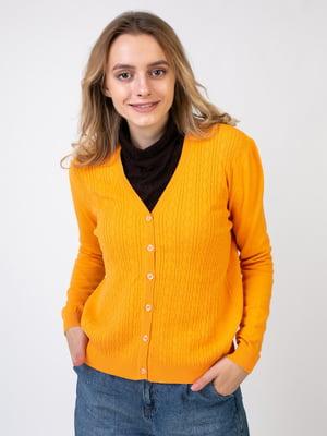Кофта оранжевая | 5516045
