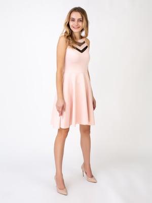 Сукня пудрового кольору | 5527348