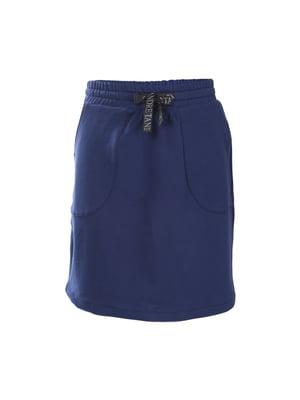 Спідниця кольору джинс | 5537217