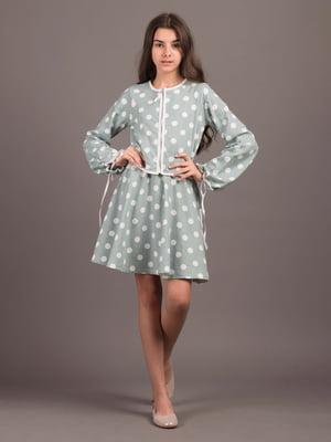 Костюм: кардиган и платье   5537224