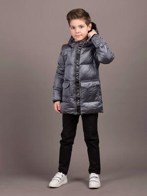 Куртка серебристого цвета | 5537230