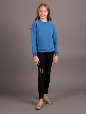 Світшот кольору джинс | 5537240