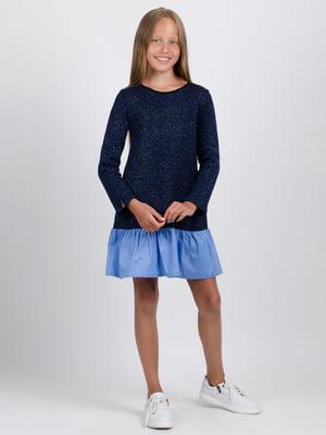 Сукня синьо-блакитна | 5537241