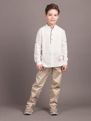 Рубашка белая | 5537430