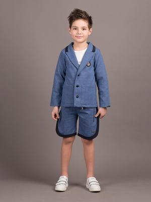 Пиджак синий | 5537434