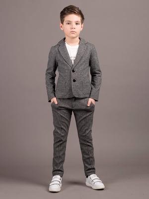 Пиджак серый | 5537456