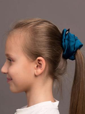 Резинка для волос изумрудного цвета | 5538069