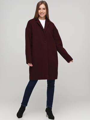 Пальто бордове | 5538321